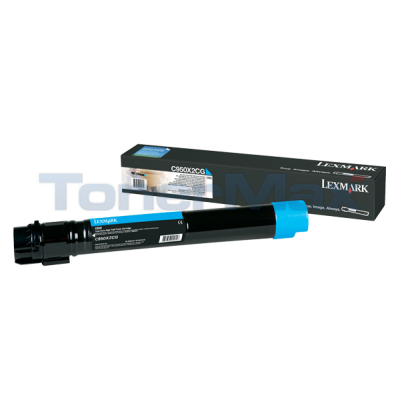 LEXMARK C950 TONER CART CYAN HY